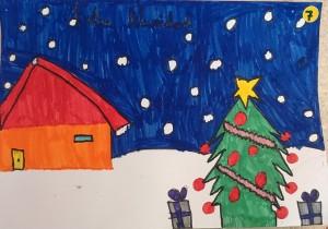Concurso Postales de Navidad ´15Ganadora de 3º y 4º